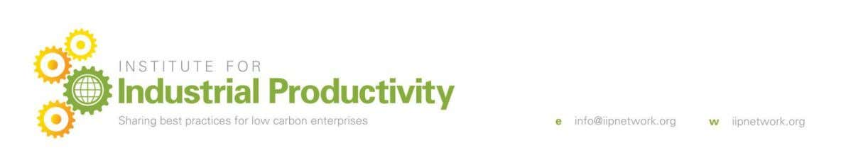 2 Introduction 2.1 Context and Scope of IIP A2A Toolkit The Institute for Industrial Productivity (IIP)