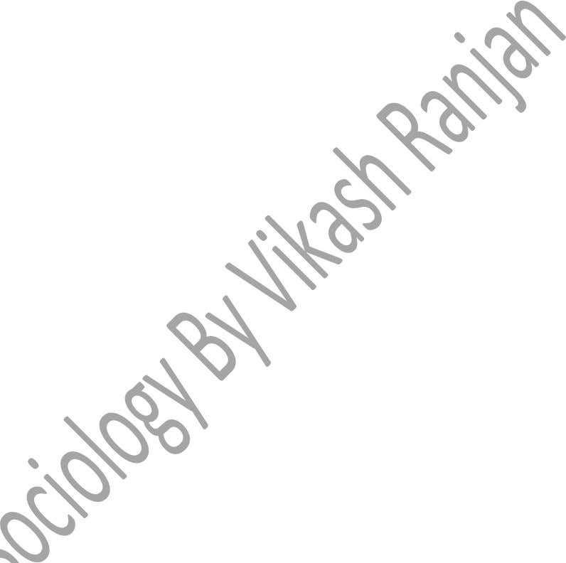 SOCIOLOGY by Vikash Ranjan . 11A/10, Old Rajender Nagar, Near Bikaner Sweet, Delhi #8586861046/#7840888102/011-25812473