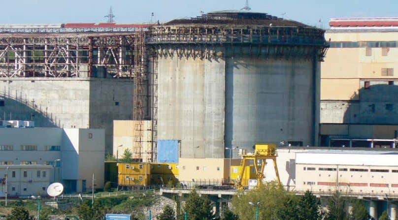 containment that could withstand the impact of passenger The second reactor at Cernavoda nuclear power plant