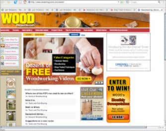 skill levels with free woodworking plans, helpful forums, numerous articles, to help you become a better