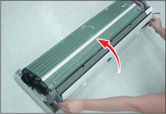 3 Tray Drain 1) Pull Tray Drain out from the Back Body.