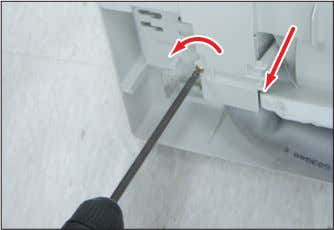 earth screws(CCW) of right side. (Use +Screw Driver.) Detach the Connection Pipe. Detach the Holder Pipe