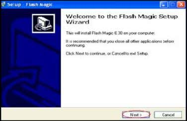 Screenshot 1.Double click on Flash Magic6_30 setup . 2.Click Next. 7. Click install. PAGE — 6