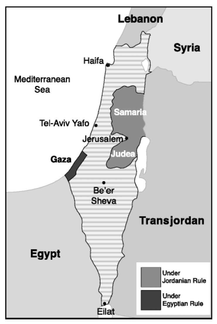 SUBJECT: MAPS Israel Before June 1967 75