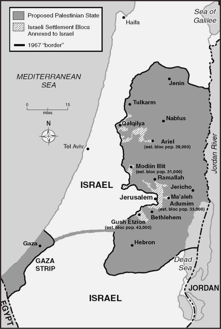 SUBJECT: MAPS The Future Borders of Palestine and Israel? 78