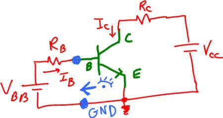 voltage and resistance seen at the terminals B and GND. Here we apply Thevenin theorem. The