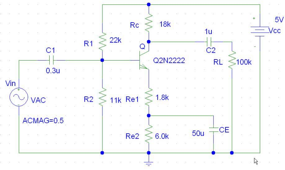 but very important starter. Circuit Formation in PSPice Note that: (a) Input signal is VAC (instead