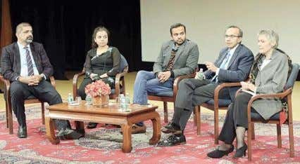 that took place in India and Pakistan following the Panelists Karim Lakhani, Diane Athaide, Prashant Bharadwaj,