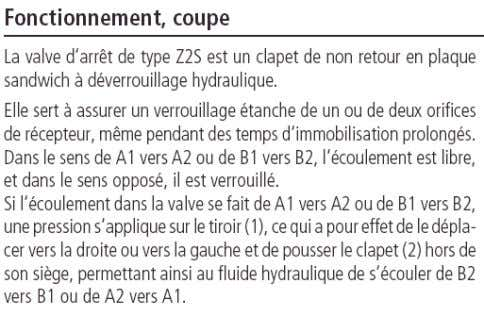 AUTOMATIQUE BTS MI HYDRAULIQUE – LA REGULATION DU DEBIT 34 – Les valves de remplissage :