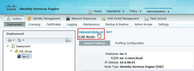 Deployment Nodes List . The Deployment Nodes window appears. Step 12: Click Register, and then choose