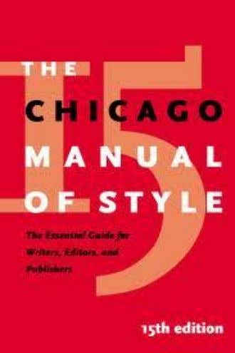 "CHICAGO MANUAL STYLE  ""Maroon Book""  offered a distinctly different and less rigid set of"