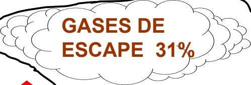 GASES DE ESCAPE 31%