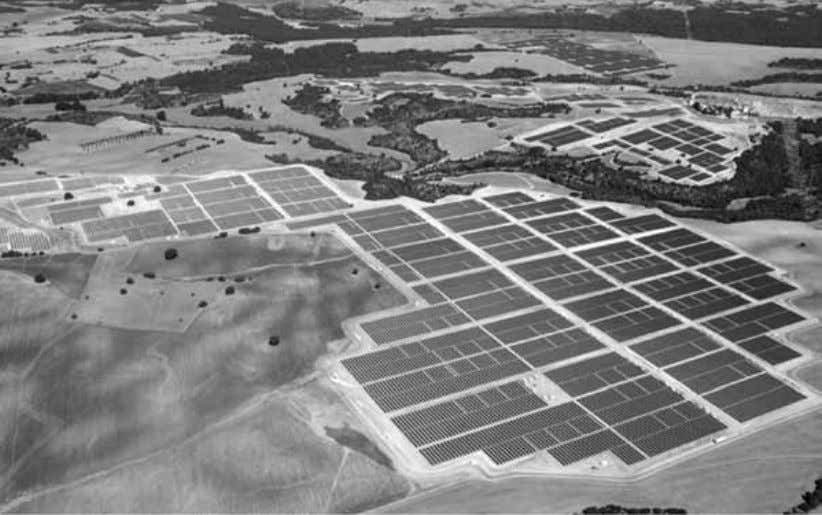 Figure 23: A large photovoltaic array in Spain