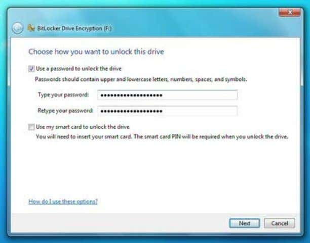 the Bitlocker.exe file to launch the Unlock Dialogue Box. Protect your Data: USB flash drives can
