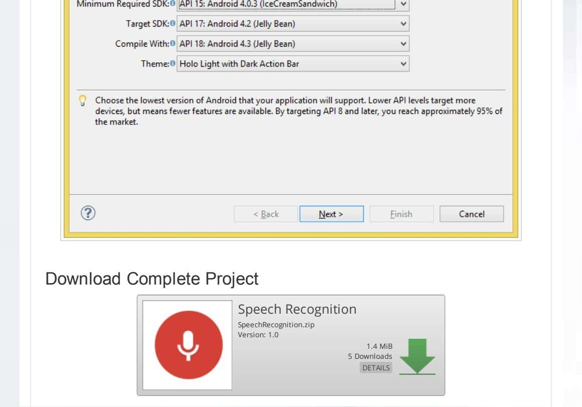 Download Complete Project Speech Recognition SpeechRecognition.zip Version: 1.0 1.4 MiB 5 Downloads DETAILS