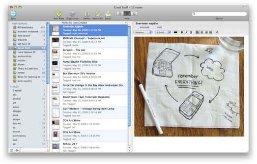 THEN… Pencil + Notepad NOW… (Evernote) Always Synced / Multi-Device / Picture + Audio Enabled /