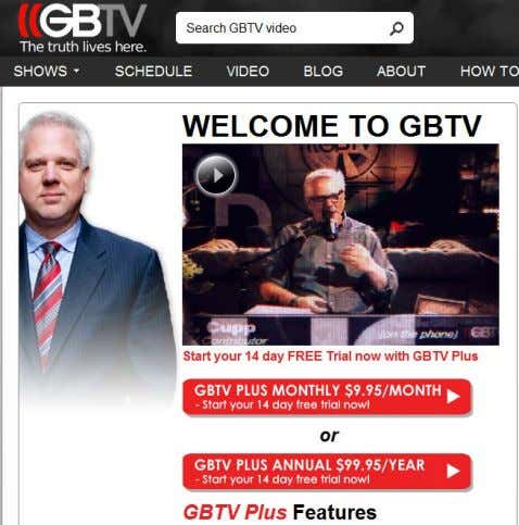 on Fox News) NOW… (GBTV - Digital) With 300K Subscribers + Lower Production Costs, GB Making