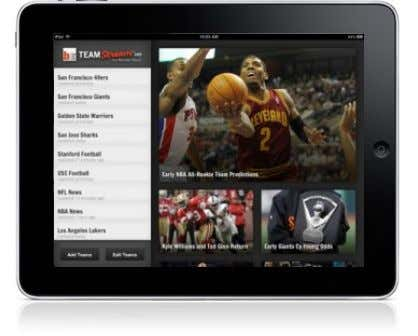 Control Over Content NOW… (YouTube Channels / Bleacher Team Stream…) On Demand Personalized Content on Big