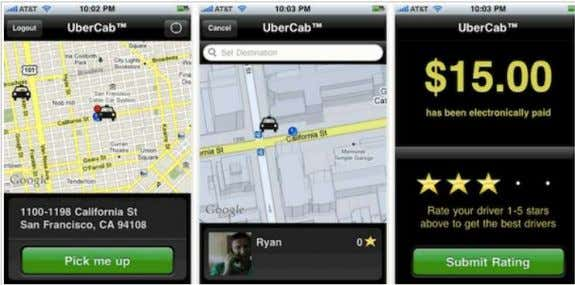 Some Areas May Not Have Taxis Roaming on Streets NOW… (Uber) One-Tap Taxi Call / Location-Aware