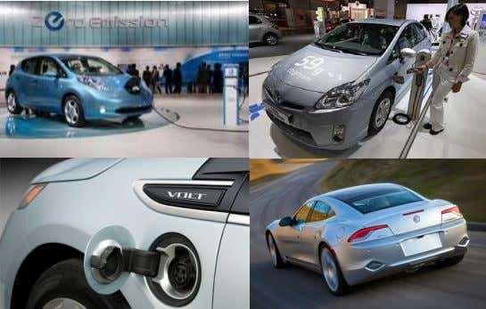/ Electric Cars) Plug-in Electrical Powertrain / Regenerative Brake / Solar Panel Roof / Little-to-Zero Emission