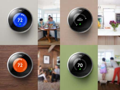 + Temperature Setting NOW… (Nest) Wi-Fi Enabled / Auto-Learning / Auto-Sensing / Remote Control / Energy