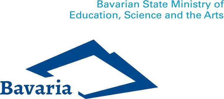 Study in Bavaria - Degree Courses in English Bavarian universities offer a number of degree