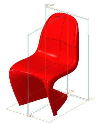 Surface Modeling in Creo 3.0 Freeform modeling: Panton Chair 1414