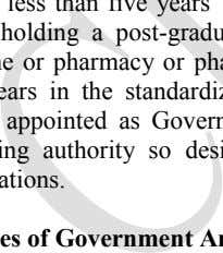 the fact that they do not fulfil the qualifications. Duties of Government Analysts C. The Government