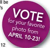 VOTE favorite from for APRIL photo your 10-23! ll be 's 12