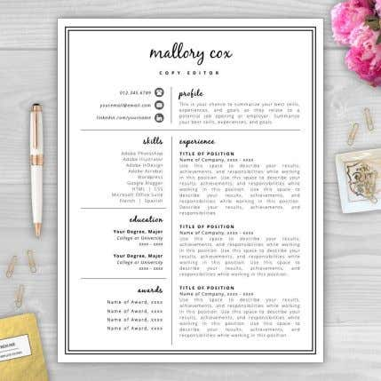 • Resume Templates • Word or Canva are free • Graphic design tool • Pinterest vs.