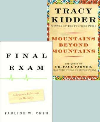 Previous One Community/One Book selections were: Mountains Beyond Mountains: the Quest of Dr. Paul Farmer,