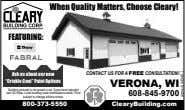 When Quality Matters, Choose Cleary! FEATURING: CONTACT US FOR A FREE CONSULTATION! Ask us about