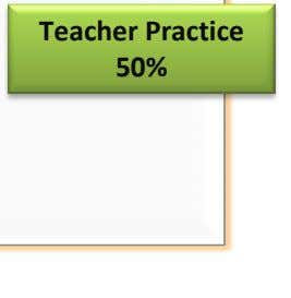5% Teacher Performance Student Outcomes 40% 50% Student Growth 45% Teacher Practice 50% Parent Feedback 10%