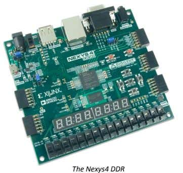 The Nexys4 DDR