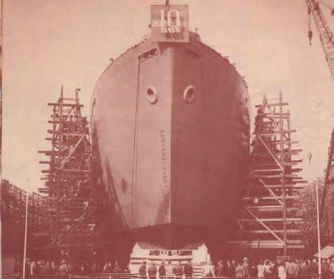 Giant is Awoken • Prefabricated parts make the construction of ships fast! • 1 Liberty Ship