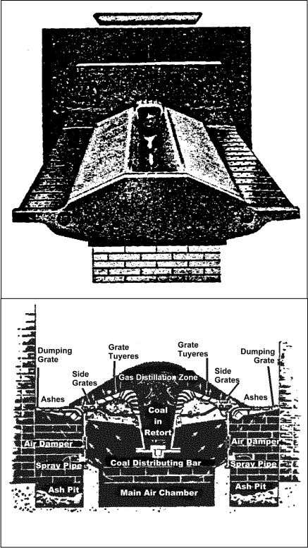 Figure 3-1. Underfeed stoker. be maintained in relation to the burner combus- tion control for