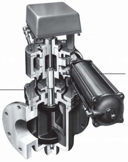 such as that used in a lubricated plug valve. © Valve Hydraulic Actuator (Piston Type) Eccentric