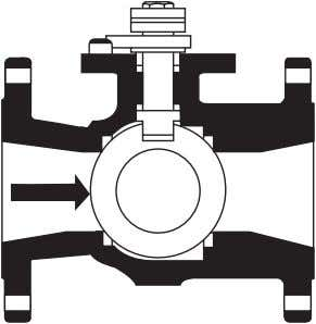 TYPES AND SELECTION OF VALVES 15 Figure 2–5 Ball valve © • ease of operation •