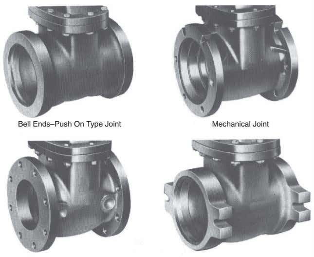 Bell Ends–Push On Type Joint Mechanical Joint