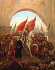 Roman Emperor. moved to Moscow and that became the 3rd Rome. Sultan Mehmed II (1449-1481). Conqueror