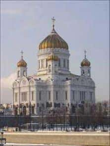 "the Scriptures into the living languages of Europe. ""Christ"" the Saviour Cathedral in Moscow. After the"