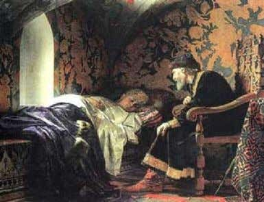 In the case of Ivan the poison made him TERRIBLE!! Death of the Tsar's beloved wife,