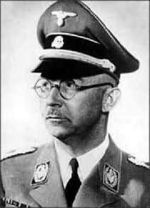 have restored the Papal States if he had won the war. Heinrich Himmler (1900-1945), with the