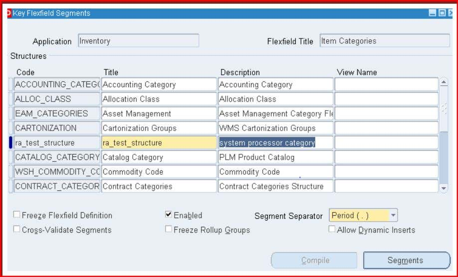 Enter a name for your first segment and associate a value set ra_valueset1 Enter a name