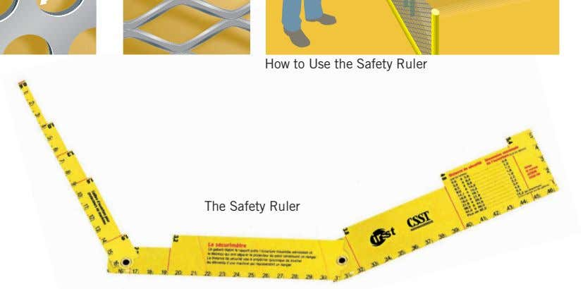 How to Use the Safety Ruler The Safety Ruler