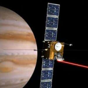 Laser Communications Laser communication between space assets can provide 10 to 100 times higher data