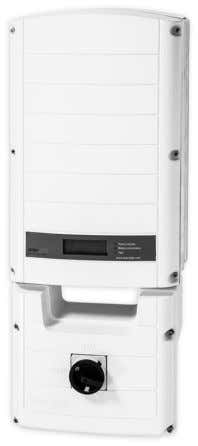 Lo Nuevo: HD-Wave Current SolarEdge Inverter* Potencia: 7.6 kW Volumen: 12.2 gallons Peso: 55 lbs Eficiencia:
