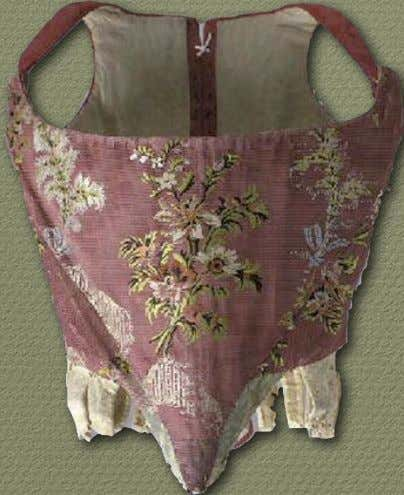 18th Century Material Culture European Stays or Corsets