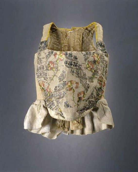 French Child's Corset (Front) c. 1750 - 1775 (Joconde Musées de France)