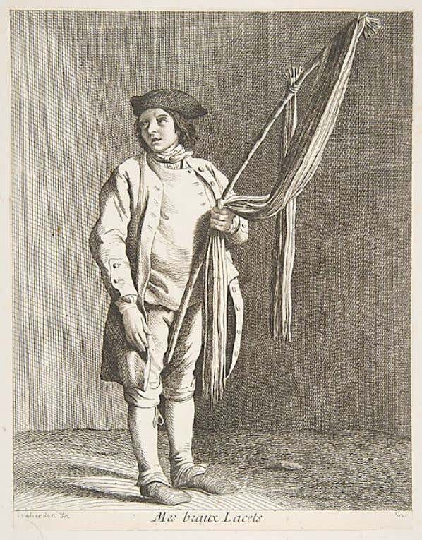 Laces Peddler by Anne Claude Philippe de Tubières, Comte de Caylus after Edme Bouchardon (Metropolitan
